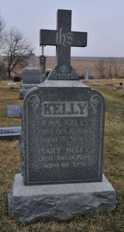 Mary S <I>Burke/Bourke</I> Kelly