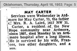 May Carter