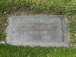 Mary <I>Bischel</I> Garvey