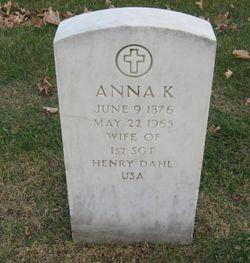 Anna K <I>Hammerly</I> Dahl