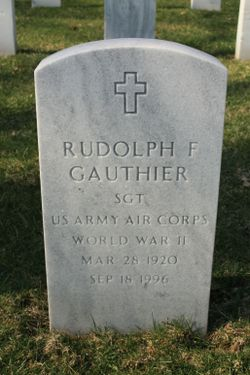 Rudolph F Gauthier