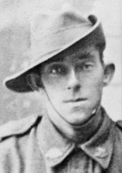 Lance Corporal William Ernest Dickson