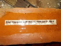 Ellen <I>Claravine</I> Goff
