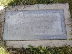 Martha C Williams