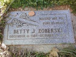 Betty J Zoberski