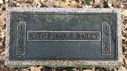 Ruth <I>Perrine</I> Bailey