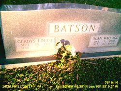 Gladys Louise <I>Whearley</I> Batson