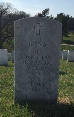 Belva Jo <I>Moore</I> Birrer