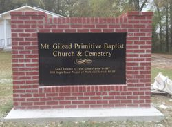 Mount Gilead Primitive Church Cemetery
