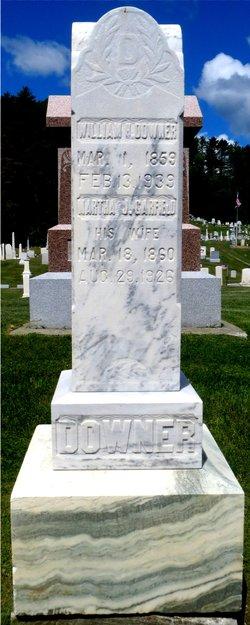 Martha <I>Garfield</I> Downer