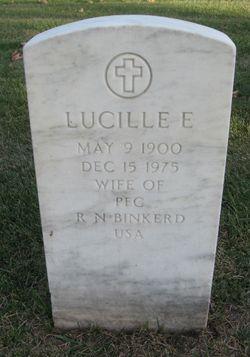 Lucille E Binkerd