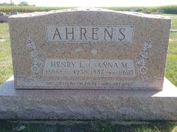Henry L Ahrens