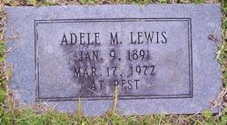 Adele Mary <I>Connolly</I> Lewis