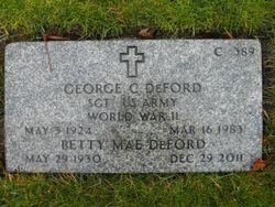George Carney Deford