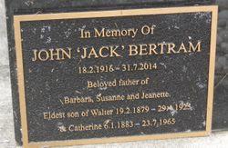 """John """"Jack"""" Bertram"""