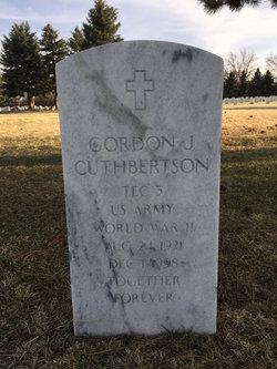 Gordon J Cuthbertson
