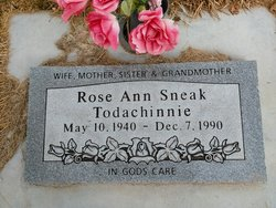 Rose Ann <I>Sneak</I> Todacheenie