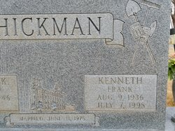 Kenneth Frank Hickman