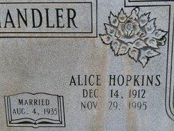 Alice Juanita <I>Hopkins</I> Chandler