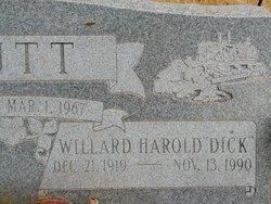 "Willard Harold ""Dick"" Butt"