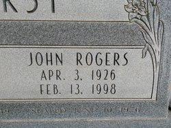 John Rogers Hurst
