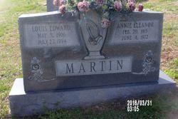 Annie Eleanor <I>Houchins</I> Martin