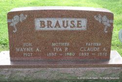 Iva Pearl <I>Butler</I> Brause