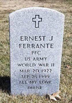 Ernest J Ferrante