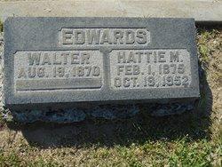 Hattie Mae <I>Barber</I> Edwards