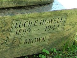 Lucille <I>Howell</I> Brown