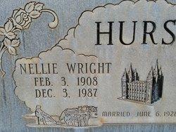 Nellie <I>Wright</I> Hurst