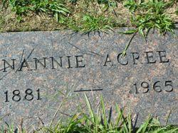 Nannie <I>McClung</I> Acree