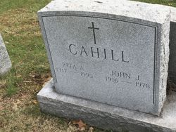 Rita Ann <I>Brown</I> Cahill