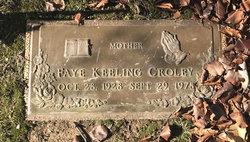 Ramona Faye <I>Drew</I> Croley