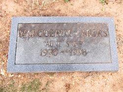 Marguerite <I>Garrett</I> Akers