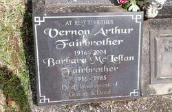 Barbara McLellan <I>Graham</I> Fairbrother