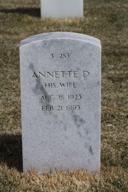 Annette D Alberts