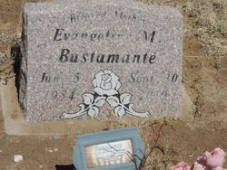 Evangeline M. <I>Duran</I> Bustamante