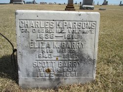 Eliza K <I>Barry</I> Parsons