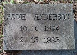 Sadie <I>Lowe</I> Anderson