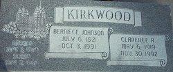 Berniece <I>Johnson</I> Kirkwood