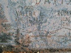 Valera Louise <I>Black</I> Davis