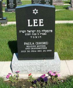 Paula <I>Shore</I> Lee