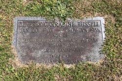Beverly Carradine Russell Sr.