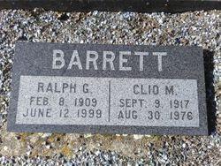 Clio M. Barrett
