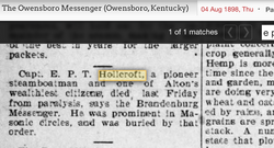 E. P. T. Hollcroft