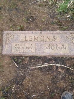John Martin Lemons