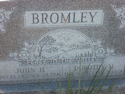 Dorothy Marie <I>Patterson</I> Bromley