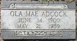 Ola Mae <I>Milam</I> Adcock