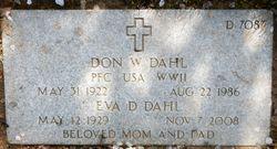 Don W Dahl